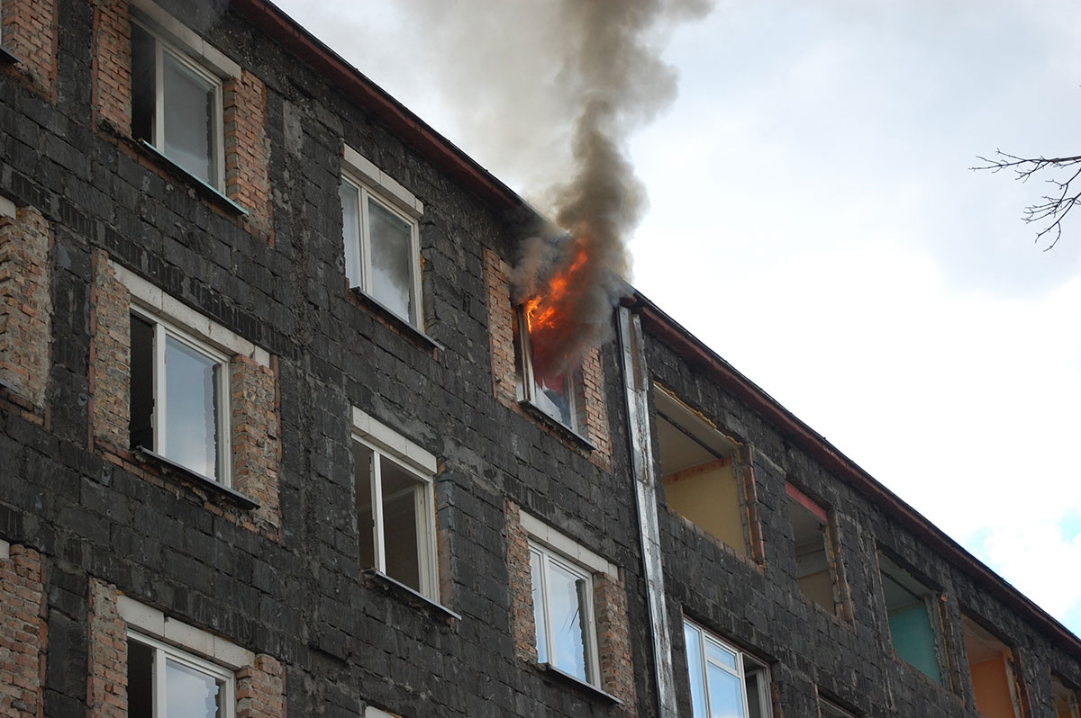 Full-scale fire tests in Bytom (PL)